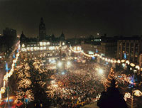 Accommodation near Glasgow's Hogmanay Party